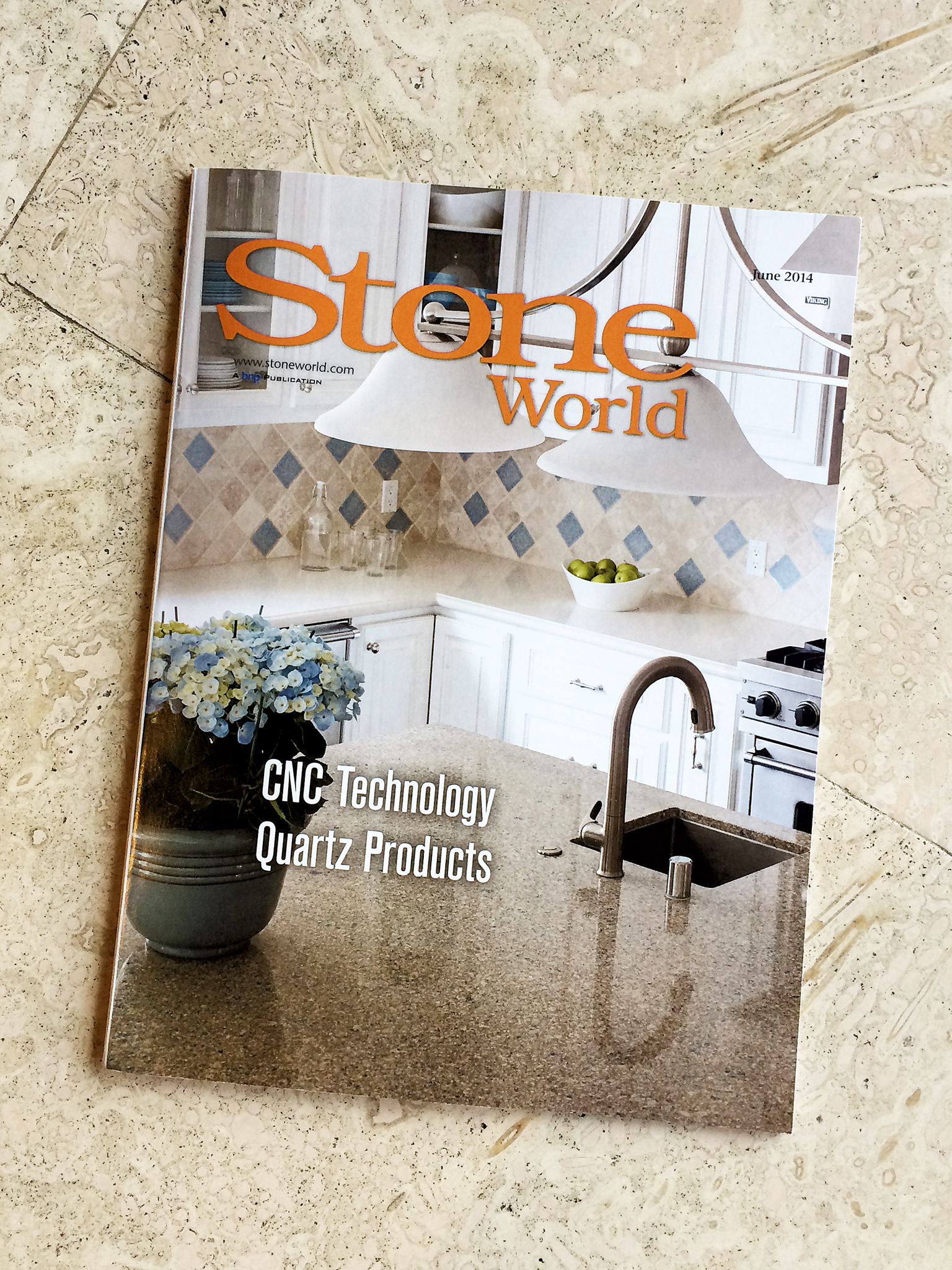 Stone World Magazine, YK Stone Center Published June 2014