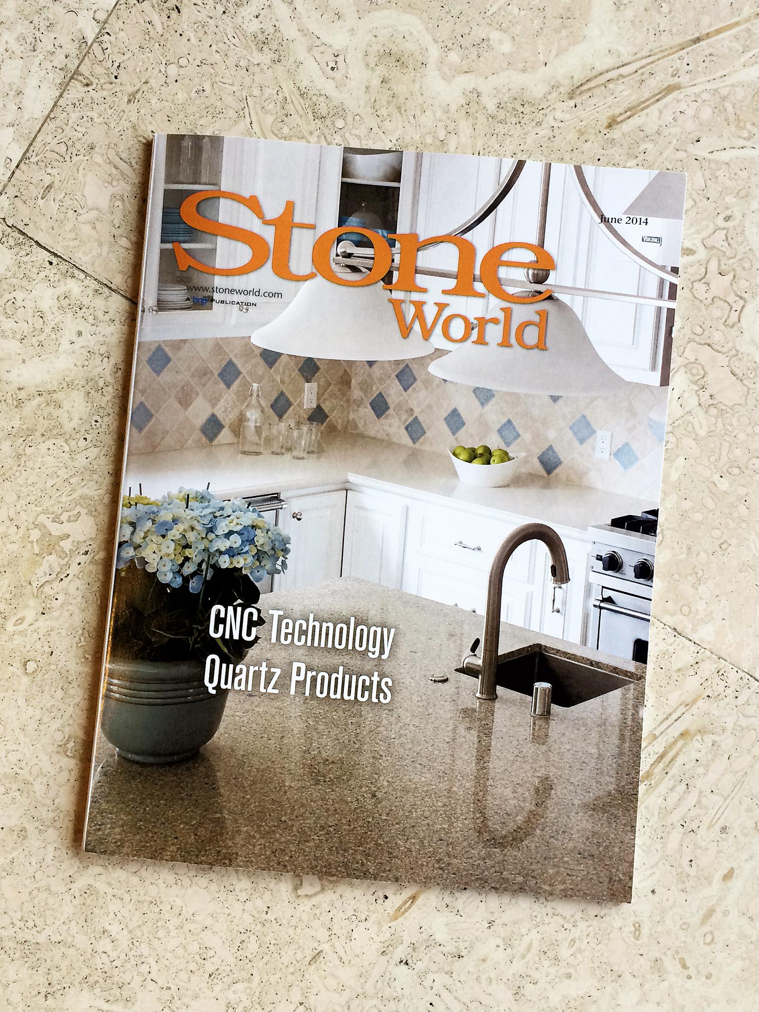 Stone World Magazine, YK Stone Center Published June 2014