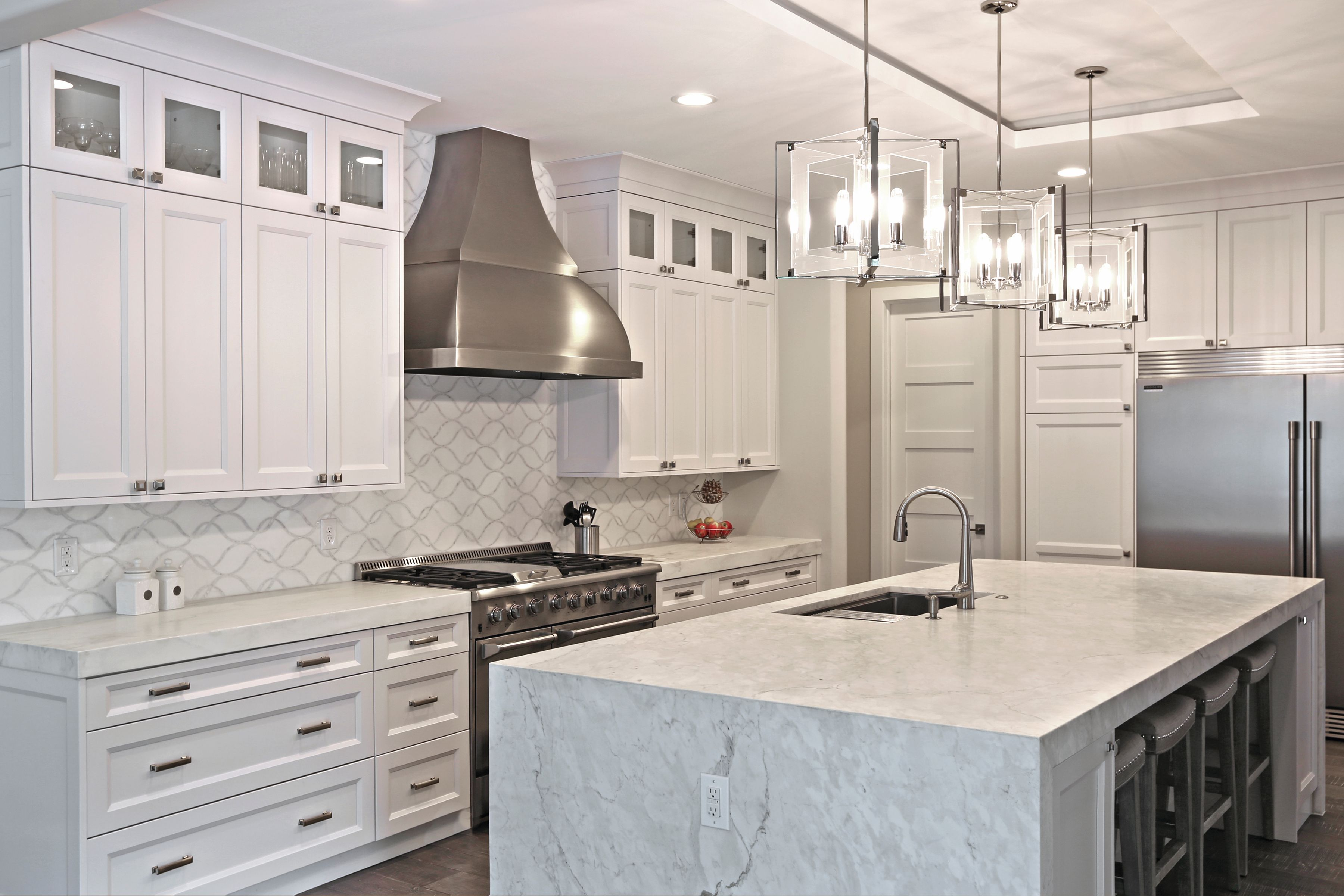calcatta carrara marble stone kitchen countertops yk stone center