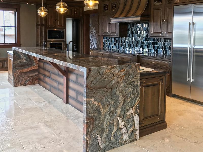 6cm Fusion Granite Kitchen Island